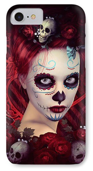 Sugar Doll Red IPhone Case