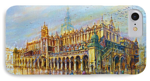 Sukiennice In Cracow IPhone Case