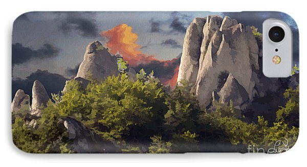 Sulov Mountains IPhone Case