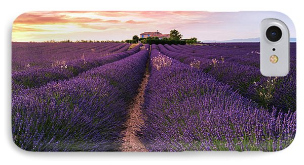 French iPhone 8 Case - Summer At Valensole by Richard Susanto