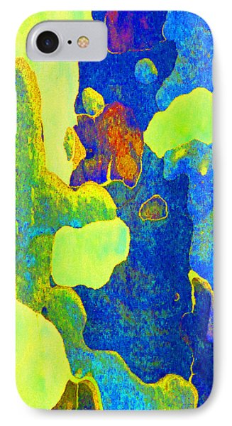 Summer Eucalypt Abstract 14 IPhone Case