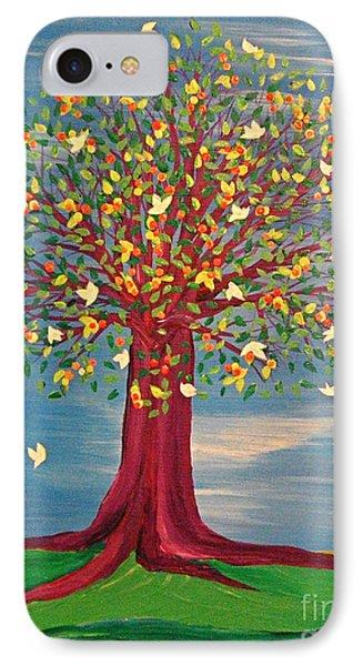 Summer Fantasy Tree IPhone Case
