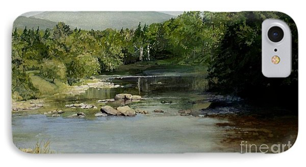 Summer On The River In Vermont IPhone Case
