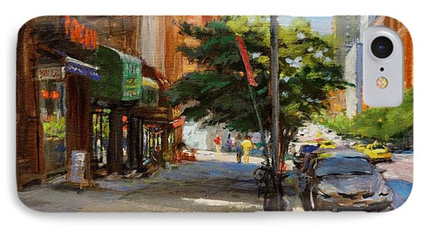 Summer Sunlight On Tenth Avenue IPhone Case