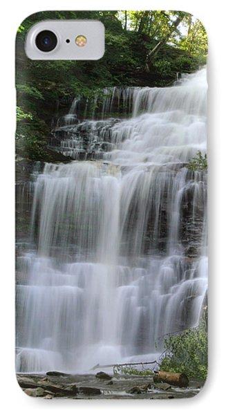 Summertime At Ganoga Falls In Rickett's Glen IPhone Case