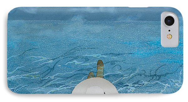 Summertime Even The Clouds Take A Dip IPhone Case