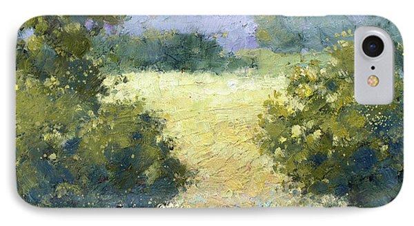 Summertime Landscape IPhone Case