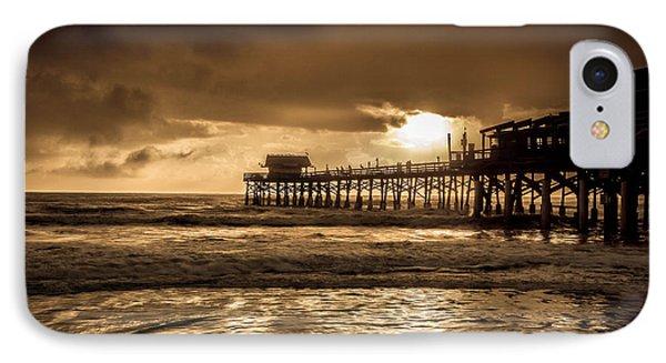 Sun Over The Pier IPhone Case