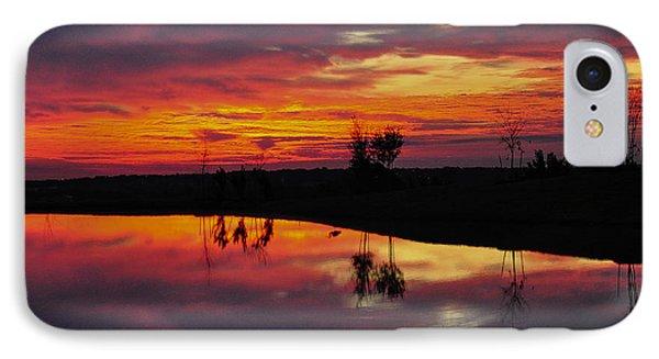 Sun Set At Cowen Creek IPhone Case