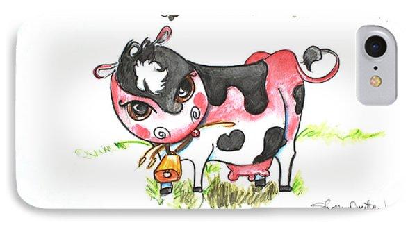 Sunburned Cow IPhone Case