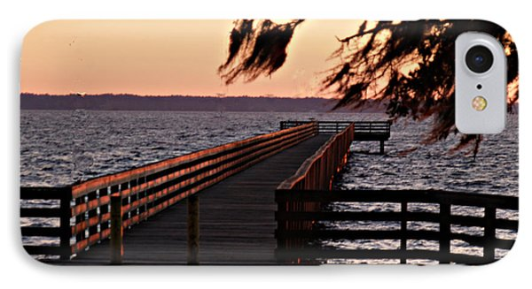 Sundown At Shands Dock IPhone Case
