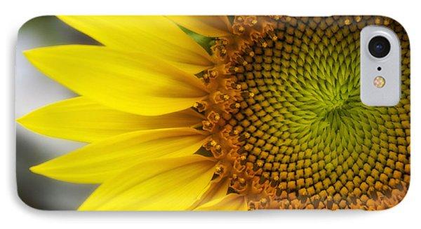 Sunflower Face IPhone Case