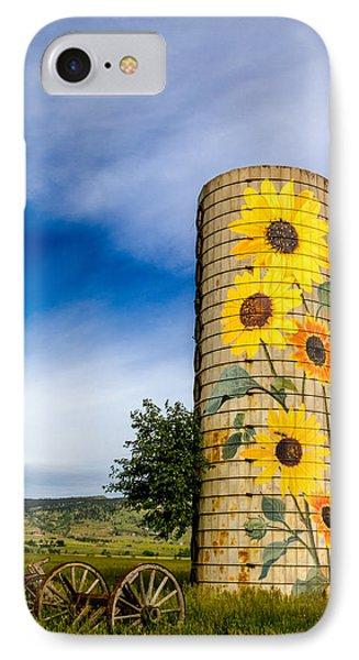 Sunflower Silo IPhone Case