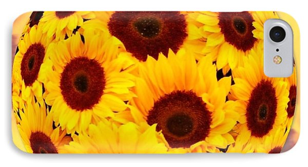 Sunflower Sunshine IPhone Case