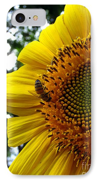 Sunflower Visitor Series 7 IPhone Case