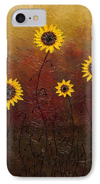 Sunflowers 3 IPhone Case