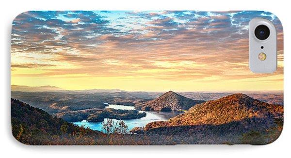 Sunlight Across Parksville Reservoir IPhone Case