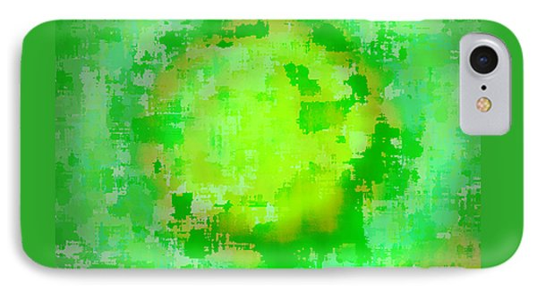 Original Abstract Art Painting Sunlight In The Trees  IPhone Case