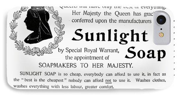 Sunlight Soap Ad, 1896 IPhone Case