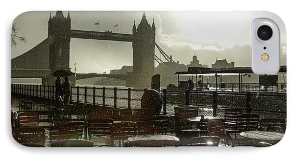 Sunny Rainstorm In London - England IPhone Case