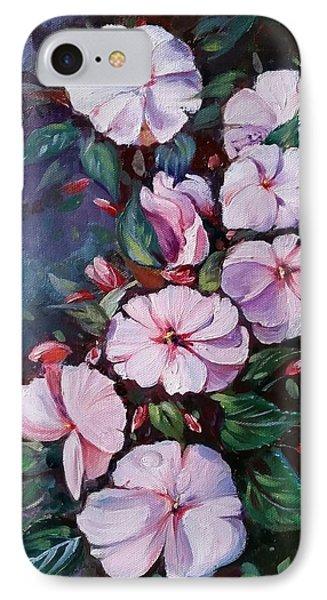 Sunpatiens Flowers IPhone Case