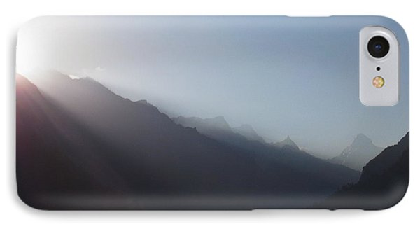 Sunrise Above Gangotri IPhone Case