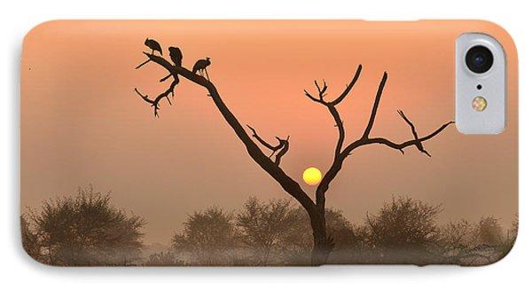 Sunrise At Bharatpur IPhone Case
