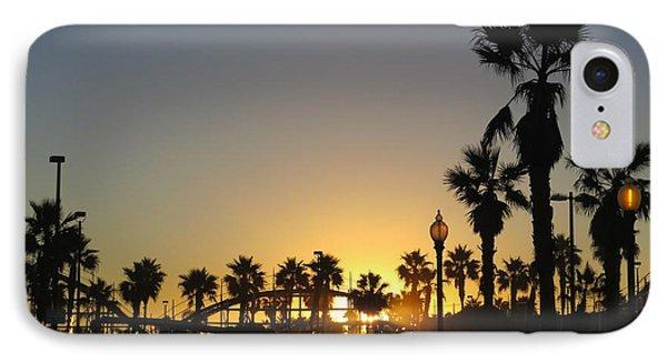 Sunrise Belmont Park San Diego 1 IPhone Case