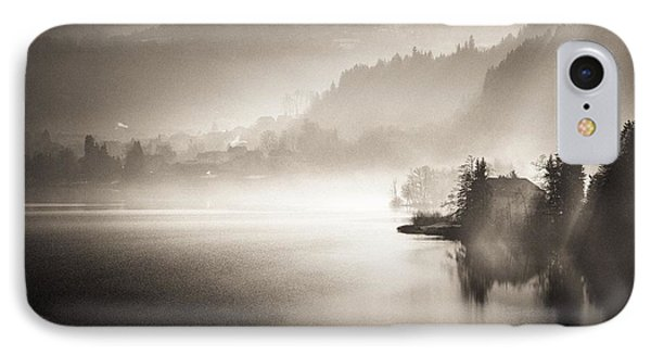 Sunrise By The Lake IPhone Case