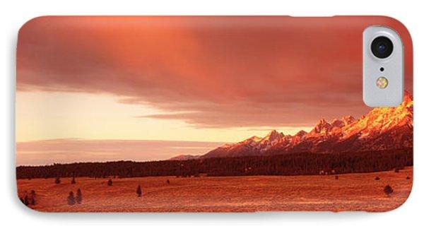 Sunrise Grand Teton National Park Wy Usa IPhone Case