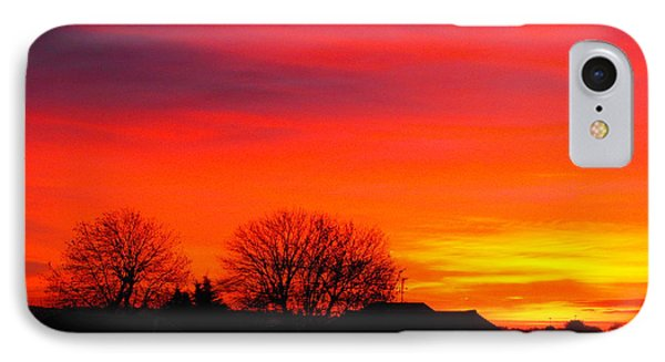Sunrise Harrow IPhone Case