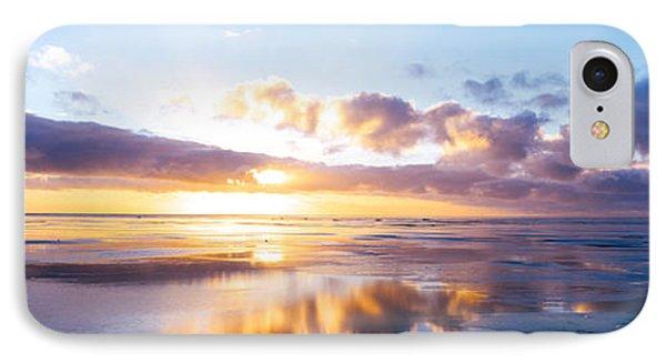Sunrise On Beach, North Sea, Germany IPhone Case