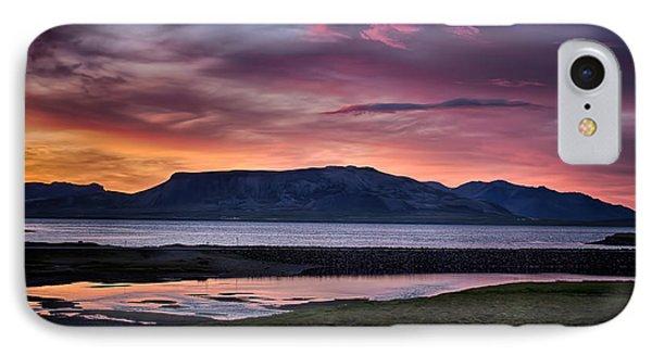 Sunrise On The Snaefellsnes Peninsula In Iceland IPhone Case