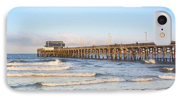 Sunrise Over Balboa Pier IPhone Case