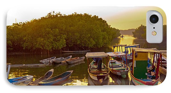 Sunrise Over Gambian Creek IPhone Case