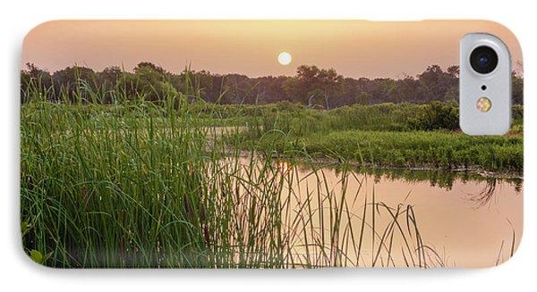 Sunrise Over The Marsh IPhone Case