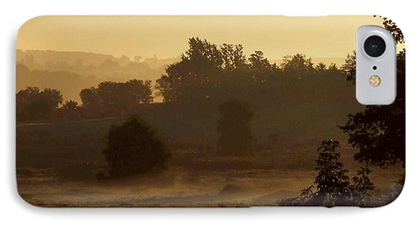 Sunrise Over The Mist IPhone Case