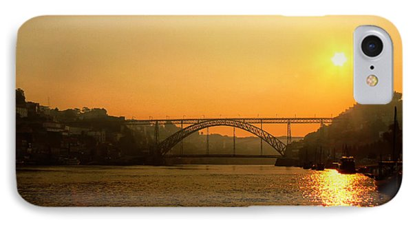 Sunrise Over The River IPhone Case