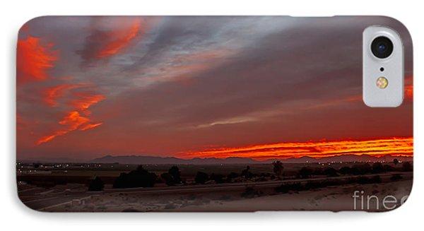 Sunrise Over Yuma IPhone Case