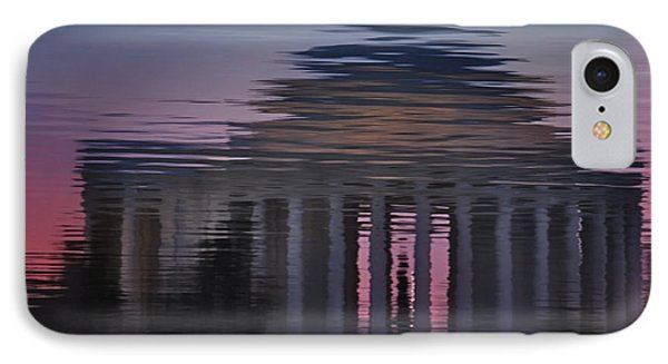 Sunrise Reflections Of The Thomas Jefferson Memorial IPhone Case