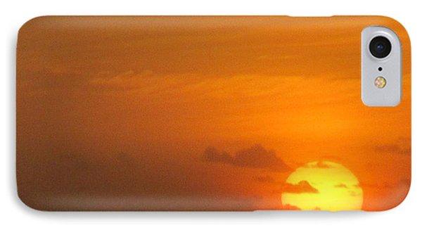 Sunrise Seaday IPhone Case