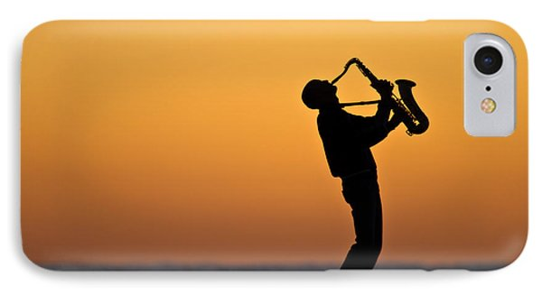 Sunrise Serenade Two IPhone Case