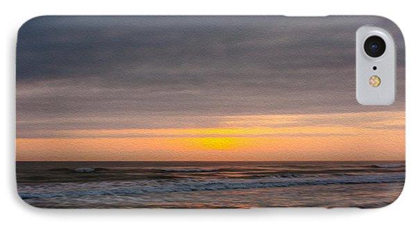 Sunrise Under The Clouds IPhone Case