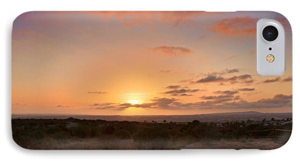 Sunset @ Rim Trail IPhone Case