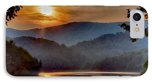 Sunset And Haze IPhone Case