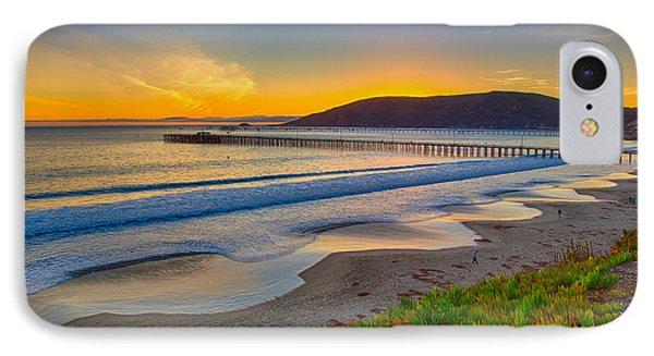 Sunset At Avila Beach IPhone Case