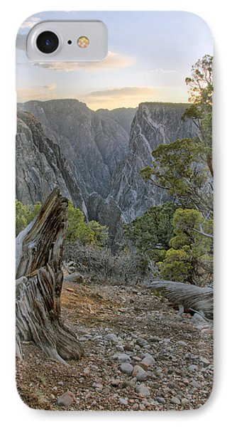 Sunset At Black Canyon IPhone Case
