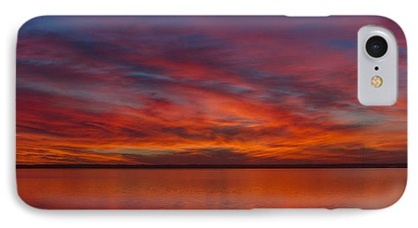 Sunset At Cheyenne Bottoms 1 IPhone Case