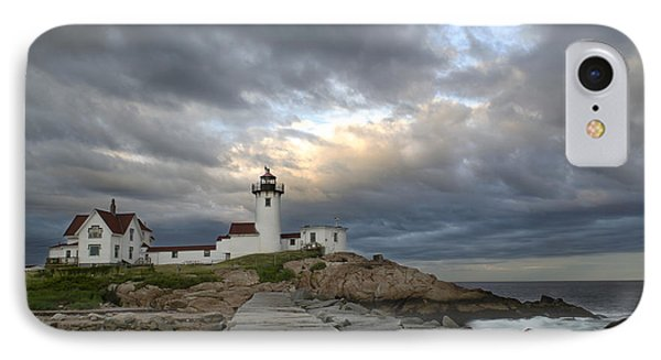 Sunset At Eastern Point Lighthouse IPhone Case