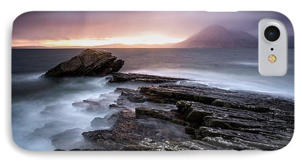 Scotland iPhone 8 Case - Sunset At Elgol Beach by Nicoleta Nussthaler